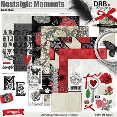 Nostalgic Moments Collection by DRB Designs | ScrapGirls.com