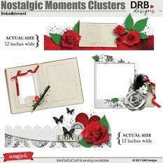 Nostalgic Moments Clusters Embellishment by DRB Designs | ScrapGirls.com