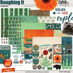 Roughing It Collection by DRB Designs | ScrapGirls.com