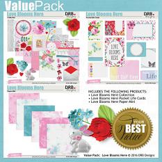 ALSO AVAILABLE: Love Blooms Here Value Pack | ScrapGirls.com