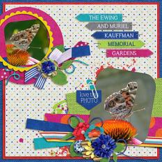 Layout by Penny using Project Keepsake: July Collection Biggie