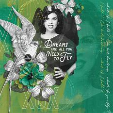 Layout for the Verde Collection by Brandy Murry