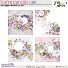 You're the only one Value Pack by Graphia Bella