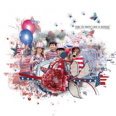 Stars And Stripes LO3