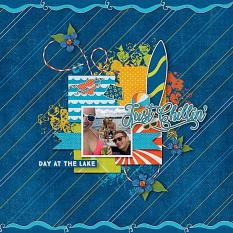 Layout by Glori using Keepin' Cool Collection Biggie