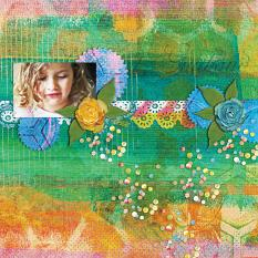 Digital Scrapbooking Layout by Carmel Munro