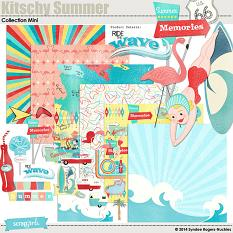 Kitschy Summer Digital Kit
