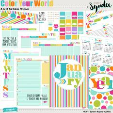 Color Your World DIY Planner