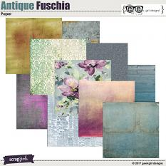 Antique Fuschia Papers