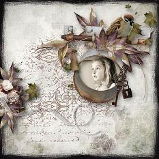 layout using Value Pack: A Sweet Vintage by florju designs