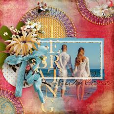 Celebrate Our Live #digitalscrapbooking layout by Amanda Fraijo-Tobin @ScrapGirls.com