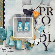 Digital Scrapbooking Layout by Amanda Fraijo-Tobin - AFT Designs - using Celebrate Items available @ScrapGirls.com