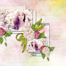 layout using Joy collection Mini by florju designs