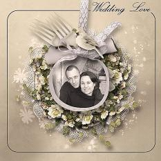 layout using Value Pack: Wedding Day by florju designs
