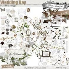 Wedding Day Embellishment Biggie by florju designs