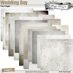 layout using Wedding Day Collection Biggie by florju designs