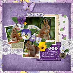 """Bob"" digital scrapbook layout by Darryl Beers"
