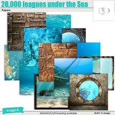 20,000 Leagues Under the Sea Papers by d's design
