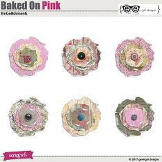 Baked On Pink Flowers