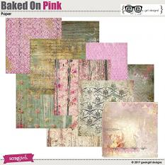 Baked On Pink Papers