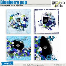 Blueberry pop by Graphia Bella