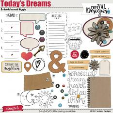 Today's Dreams Embellishment set by ReviVAL Designs