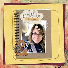 Today's Dreams layout by ReviVAL Designs