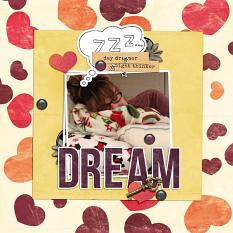 Today's Dreams layout 2 by ReviVAL Designs