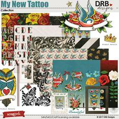 My New Tattoo Collection by DRB Designs | ScrapGirls.com