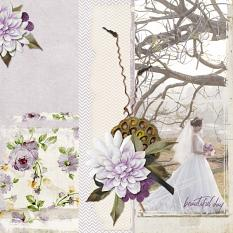 Wedding layout using Perfection Collection Biggie