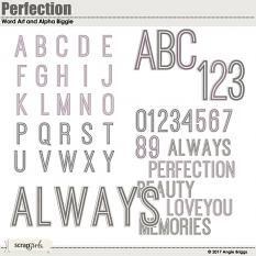 Perfection Word Art