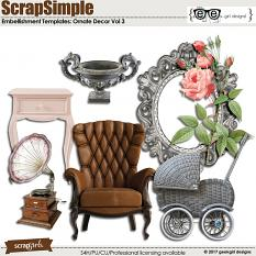 Ornate Decor Vol 3