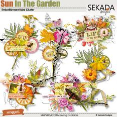 Sun In The Garden Embellishment Mini CLuster