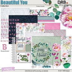 Beautiful You Collection by DRB Designs | ScrapGirls.com
