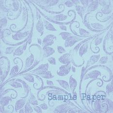 ScrapSimple Paper Templates: Distressed Flourished Overlays • Set 02 | Sample Paper