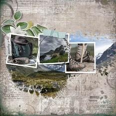 layout using Value Pack: Traveler's Notebook by florju designs
