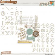 Genealogy Collection Alpha by Caroline B.