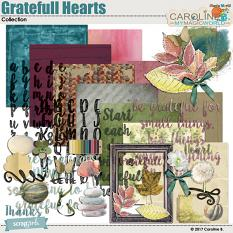 Grateful Hearts Collection by Caroline B.