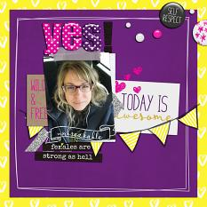 Unbreakable layout example by ReviVAL Designs