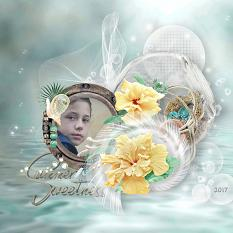 layout using sea, sand and sun value pack by d's design