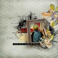 layout using Value Pack: Rentrée des Classes by florju designs