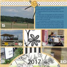 """July"" digital scrapbook layout showcases Value Pack: 12 x 24 Scrap It Monthly Three"