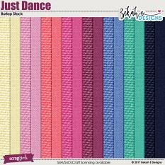 Just Dance - Burlap Stack