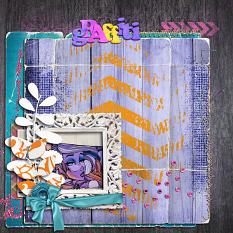 Graffiti layout by geekgirl designs