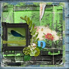 Dragon Fly layout by geekgirl designs