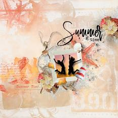 layout using Hello August Embellishment Mini: Accent by florju designs