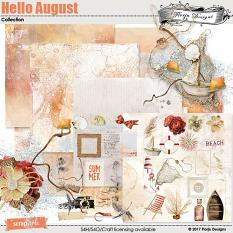 Hello August Collection by florju designs