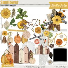 Sunflower Embellishments Biggie