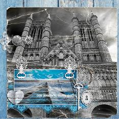 One Journey Many Paths layout by geekgirl designs