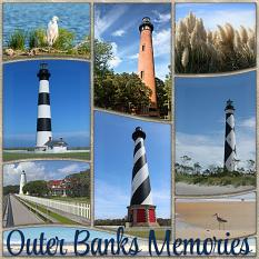 Outer Banks Memories Layout by Laura Louie